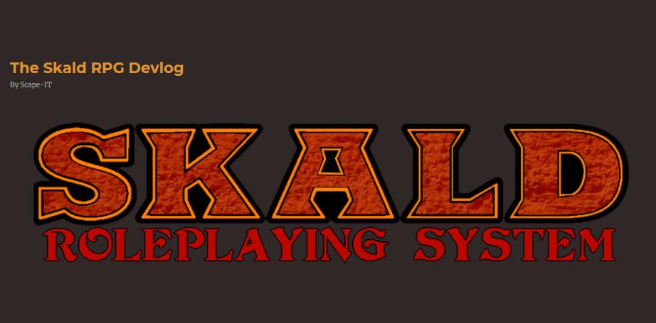 The Skald RPG Devlog – By Scape IT